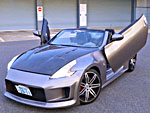 2010 Nissan 370Z Convertible supercharger DFW DEMO CAR